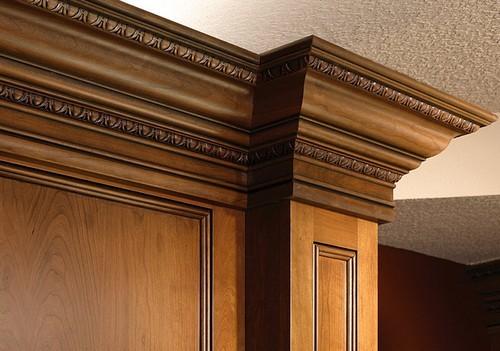 Деревянная галтель добавит в дом немного роскоши