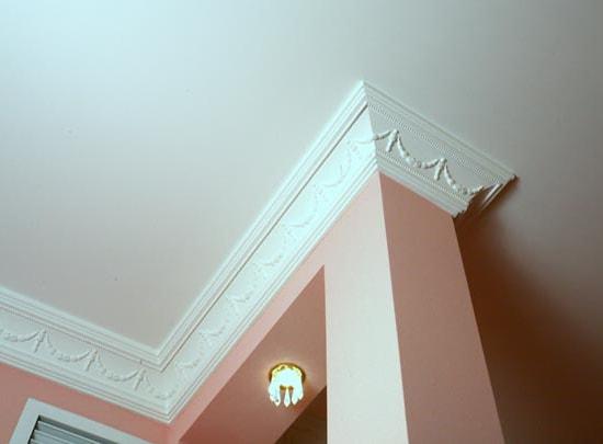 Экструзионный полистирол идеален для декорирования помещений