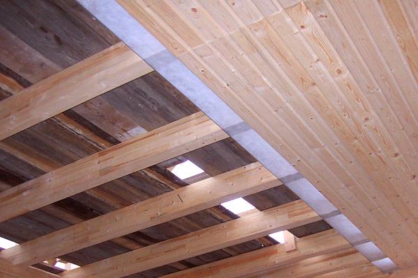утепляем потолок бани своими руками