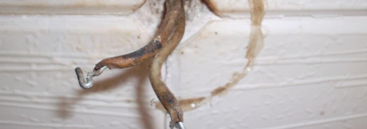 Старая электропроводка в доме