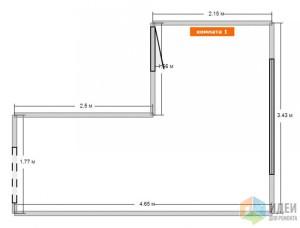 как посчитать квадратные метры стены