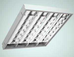 Светильники растровые ARS/R с зеркальной экранирующей решеткой