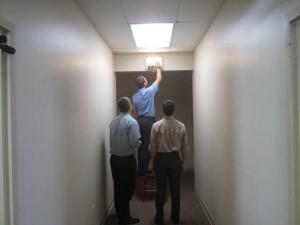 Замена лампы