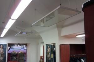 Потолочные навесные тепловые панели